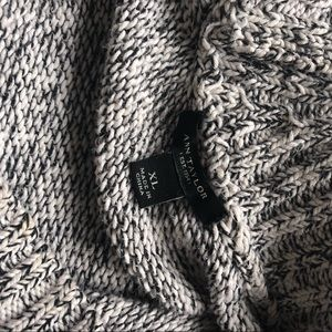 Ann Taylor Sweaters - Ann Taylor Off Shoulder Knit Long Sleeve Sweater